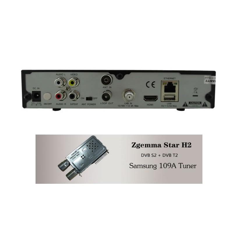 Zgemma H2, Combo, vendita Roma, prezzi ZGemma H2 Combo satelliatre +